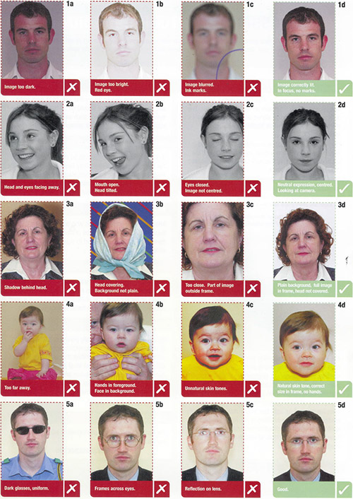 PassportPhoto guidelines