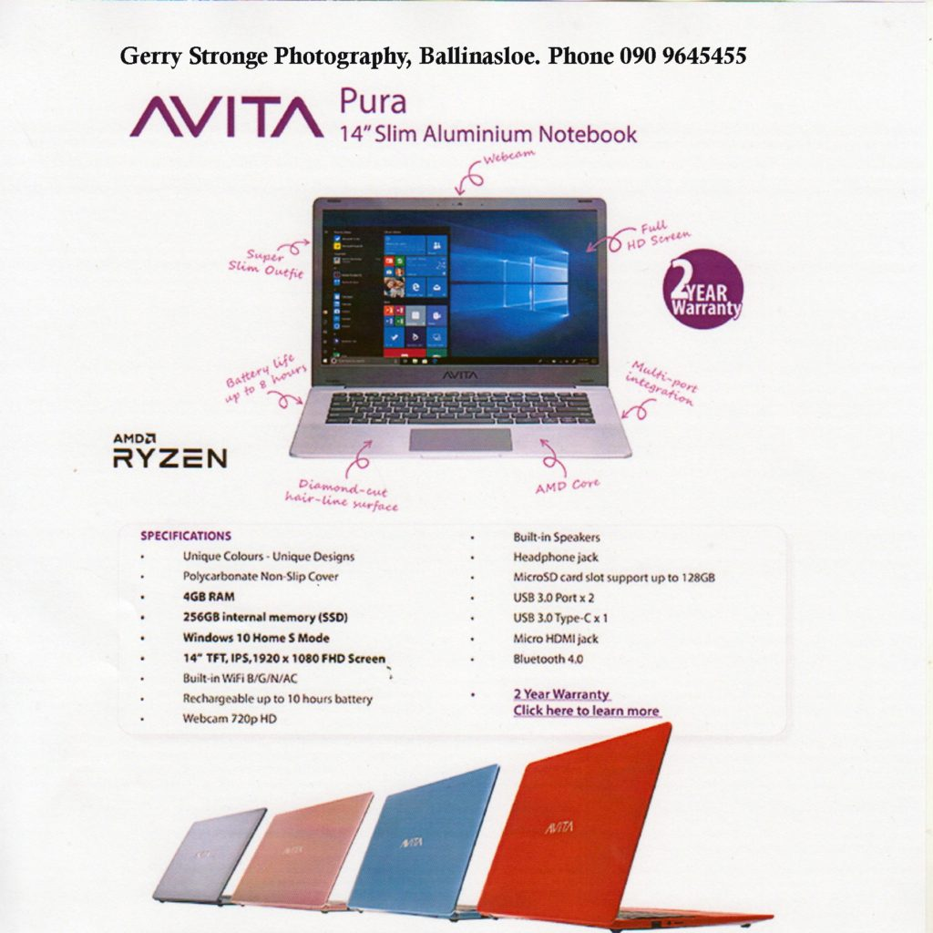 Avita Laptop bundle